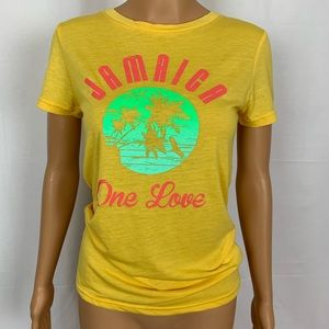 Jamaica One Love T Shirt Lifestyle Apparel NWT Med